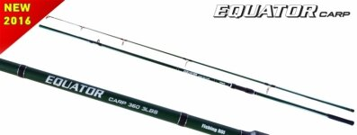 Удилище Fishing ROI Equator Carp 360 3.5lbs 2sect (M202)